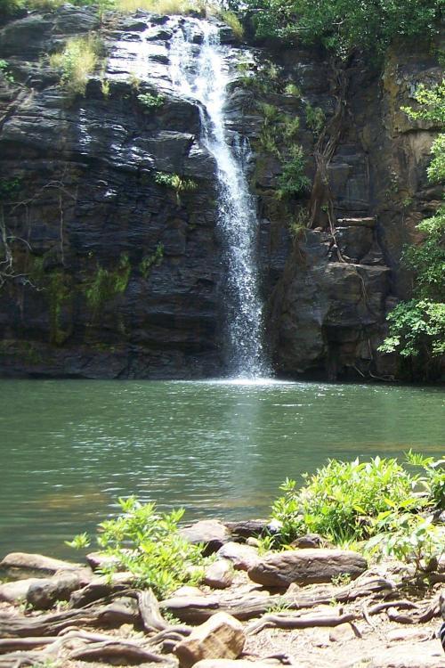 Waterfall at Pendjari